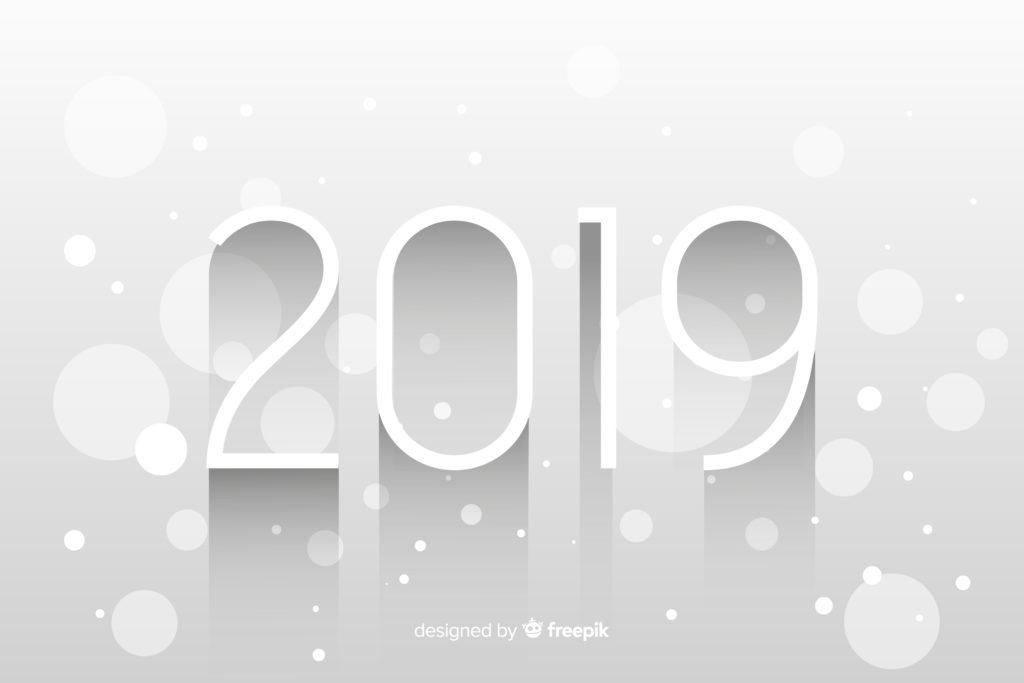 Neujahrsbild ein neues Jahr beginnt